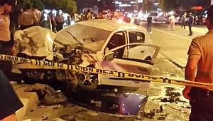3 otomobilin karıştığı kazada 1'i çocuk 7 yaralı