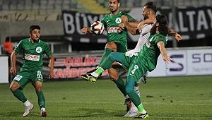 Altay, sahasında Giresunspor'a 1-0 mağlup oldu.