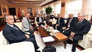 Başkan Kocaoğlu'nun Ankara mesaisi