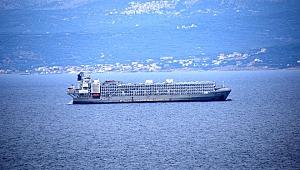Çeşme Ortak Tavır Koydu, Gemi Rotasını Akdeniz'e Çevirdi