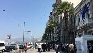 F-16'lar Yunanlı Bakanı korkuttu