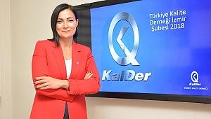KalDer İzmir Şubesi'nde Bayrağı Senem Kılıç Devraldı
