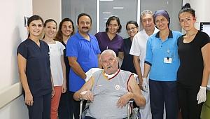 Palyatif Bakımda Tedavi Gören Hasta Aylar Sonra İlk Defa Yürüdü…