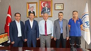 AFAD-SEN Genel Başkanı Çelik'ten İzmir ziyareti