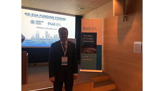 Budak Avrupa Üniversiteler Birliği Forumuna katıldı