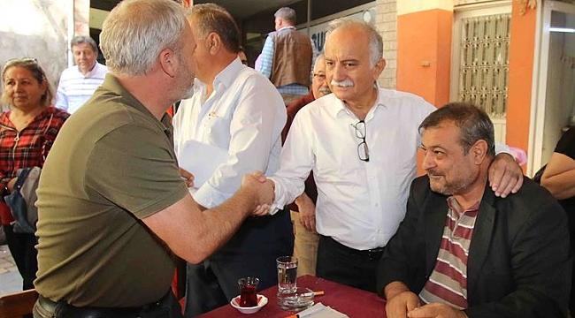 Karabağ'a İlçelerden Sıcak Karşılama