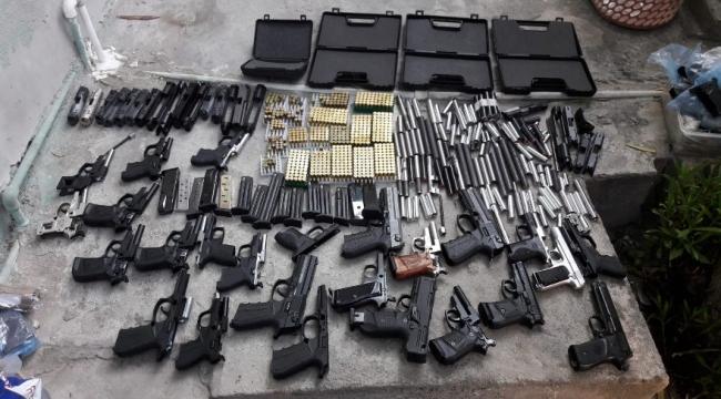 Kurusıkı tabancaları gerçek tabancaya çeviren atölyeye operasyon