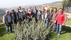 Bornova'da çiftçiye bilgi desteği