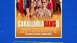 Çakallarla Dans 5 Ekibi 17 Kasım'da İzmir'de