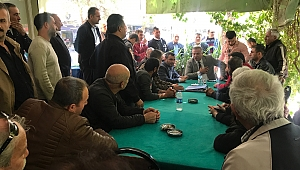 Çözüm için Mehmet Şakir Başak'a Geldiler
