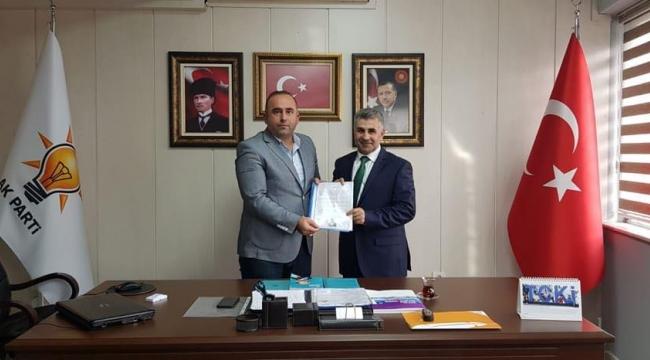 Karabağlar Kaymakamı AK Parti'den aday adayı