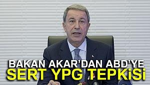 Milli Savunma Bakanı Hulusi Akar: ABD'den YPG ile işbirliğini kesmesini bekliyoruz