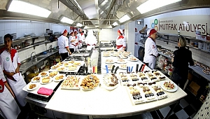 Mutfak Atölyesi'nde üçüncü dönem eğitimleri başlıyor