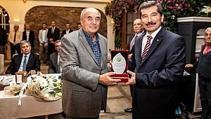 Şahin Aybal'dan İzmir'e veda