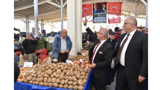 Salihli'nin Yeni Modern Pazaryeri Hizmete Açıldı