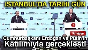 TürkAkım'da tarihi gün