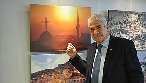 Fotoğraflarla Mardin'i İzmir'e taşıdı