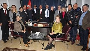 Hızır, Türkiye Meclis Üyeleri Birliği'ne Projelerini Anlattı.
