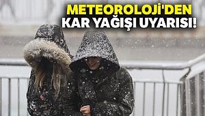 Meteoroloji'den kar yağışı uyarısı |17 Aralık yurtta hava durumu