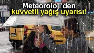 Meteoroloji'den kuvvetli yağış uyarısı! |3 Aralık yurtta hava durumu
