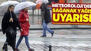 Meteoroloji'den sağanak yağış uyarısı !