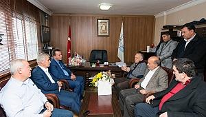 Minibüsçülerden Başkan Hasan Karbağ'a açık destek