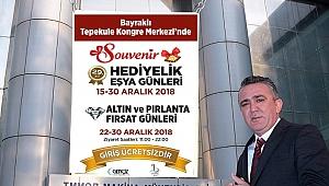 SOUVENIR Hediyelik Eşya Günleri,  İzmir'de   başlıyor