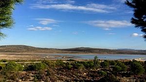 Yağışlar, Çeşme'deki barajın su seviyesini arttırdı