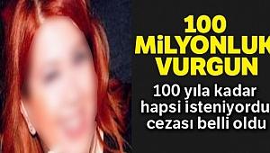 100 milyonluk vurguna 33 yıl hapis, 677 bin lira para cezası