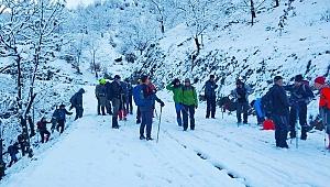 Aydın Dağları'na tırmandılar