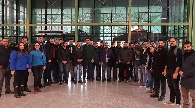 İzmir AK Gençlik'ten Erciyes'te çalışma kampı