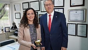 Türk bilim insanına en prestijli ödül