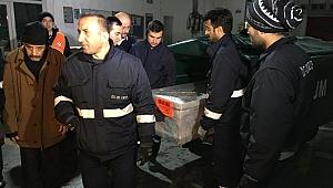 Zeynep'in cenazesi baba ocağına getirildi