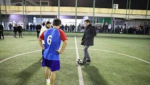 AK Partili gençlerden futbol turnuvası
