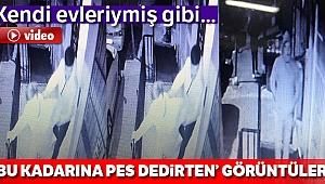 Bahçelievler'de apartmana giren hırsızı vatandaşlar yakaladı