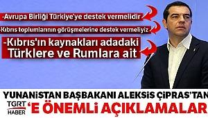 Çipras: 'Kıbrıs'ın kaynakları adadaki Türklere ve Rumlara ait'
