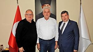 Ekrem Oran'dan Dalgıç'a nezaket ziyareti