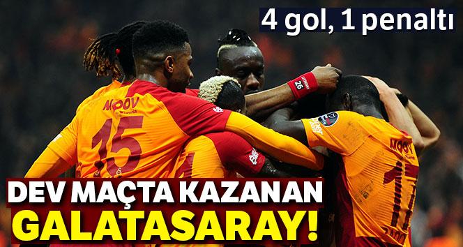 Galatasaray Trabzonspor'u 3 golle yıktı! | Galatasaray - Trabzonspor kaç kaç