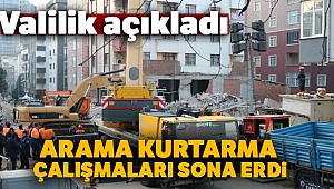 İstanbul Valiliği: 'Çöken binadaki arama kurtarma çalışmaları sona erdi'