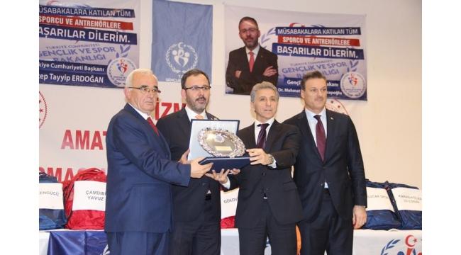 """Kasapoğlu: """"İzmir'e heybemiz dolu geldik"""""""