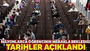 ÖSYM'den Yükseköğretim Kurumları Sınavı duyurusu