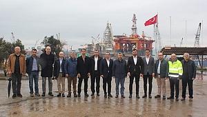 Zonguldak Valisi Erdoğan Bektaş'tan GEMİNSANDER'e ziyaret