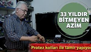 33 yıldır bitmeyen azim