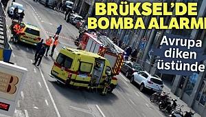 Brüksel'de bomba alarmı !