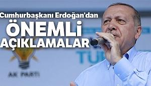 Cumhurbaşkanı Erdoğan'dan Zonguldak'da önemli açıklamalar!