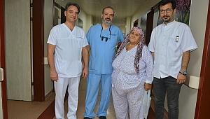 Fazla kiloları nedeniyle ameliyat riskli bulundu...