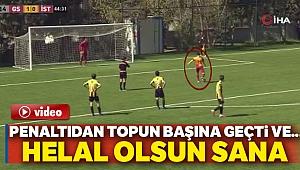 Galatasaraylı genç futbolcu Beknaz Almazbekov'dan fair-play örneği