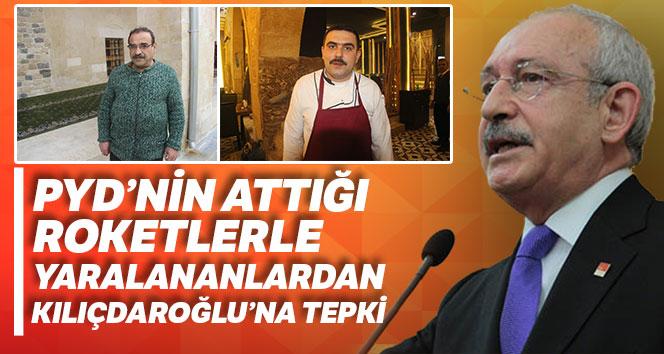PYD'nin attığı roketlerle yaralananlardan Kılıçdaroğlu'na tepki