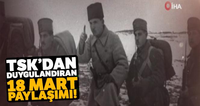 TSK'dan 18 Mart Çanakkale Deniz Zaferi klibi