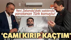 Yeni Zelanda'daki saldırıda yaralanan Türk konuştu!